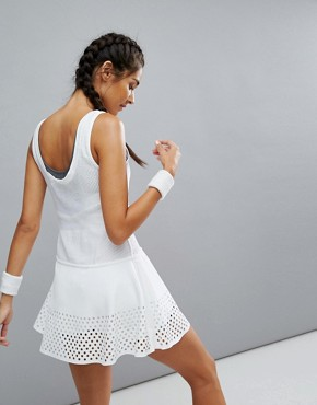 photo Barricade Tennis Dress by Adidas by Stella McCartney, color White - Image 2