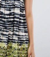 photo Beach Broidery Tie Dye Swing Dress by ASOS TALL, color Mono - Image 3