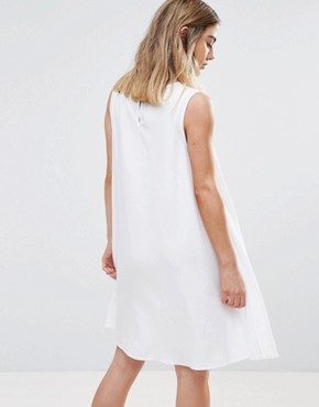 photo Tencel Tent Dress by Native Youth, color White - Image 2