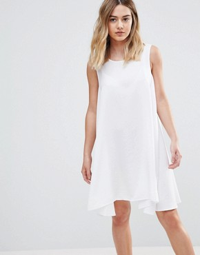 photo Tencel Tent Dress by Native Youth, color White - Image 1