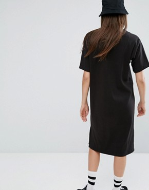 photo T-Shirt Dress by Stussy, color Black - Image 2