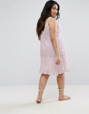 photo Washed Sundress by ASOS CURVE, color Lilac - Image 2