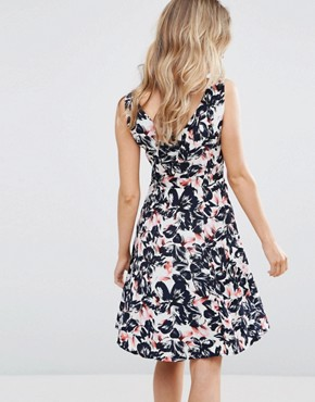 photo Poppy Floral Bow Dress by Sugarhill Boutique, color Multi - Image 2