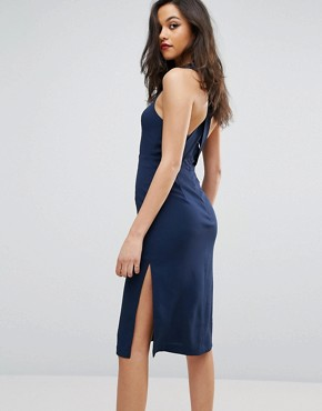 photo Bodycon Dress by BCBGeneration, color Dark Navy - Image 2
