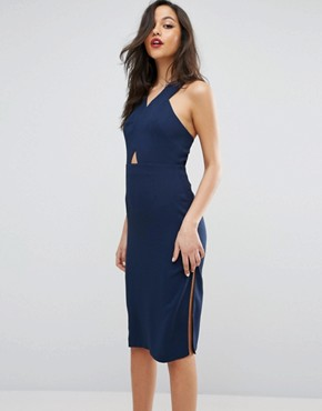 photo Bodycon Dress by BCBGeneration, color Dark Navy - Image 1