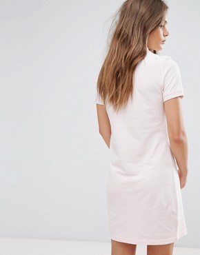 photo Polo Shirt Dress with Tipping by JDY, color Pale Lilac - Image 2