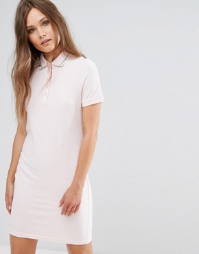 photo Polo Shirt Dress with Tipping by JDY, color Pale Lilac - Image 1