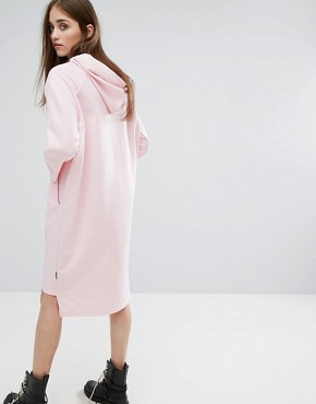 photo Hooded Sweat Dress by Cheap Monday, color Pastel Pink - Image 2