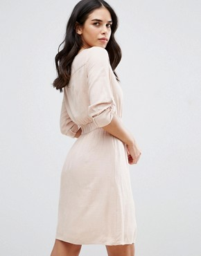 photo Skater Dress by Vila, color Rose Dust - Image 2