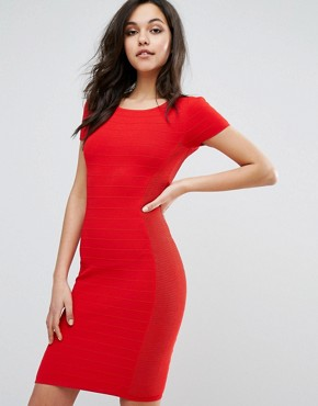 photo Dasai Bodycon Dress by Supertrash, color Obsession Red - Image 1