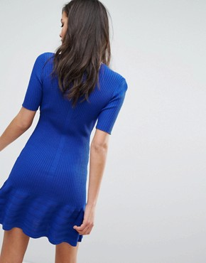 photo Dai Frill Dress by Supertrash, color Nomad Blue - Image 2