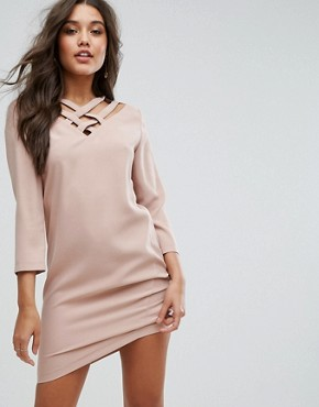 photo Dazil Shift Dress by Supertrash, color Bohemian Nude - Image 1