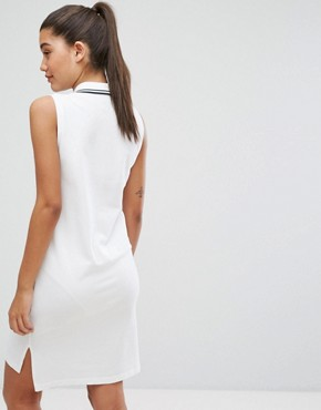photo Polo Dress with Tipping by Polo Ralph Lauren, color White - Image 2