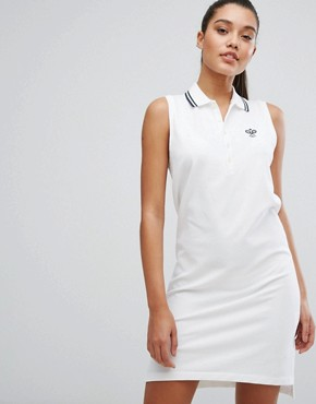 photo Polo Dress with Tipping by Polo Ralph Lauren, color White - Image 1