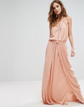 photo Omara Maxi Dress by The Jetset Diaries, color Copper - Image 1