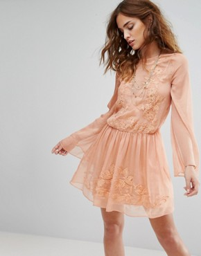 photo Melita Dress by The Jetset Diaries, color Desert Coral - Image 1