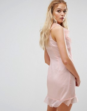 photo Lanza Mini Dress by The Jetset Diaries, color Blush - Image 2