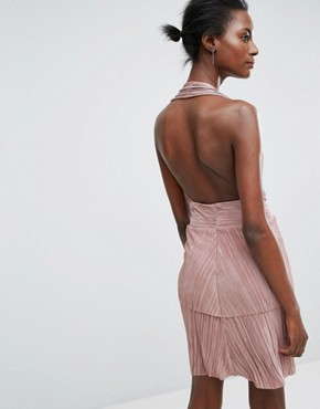 photo Halterneck Dress by Wal G, color Rose - Image 2