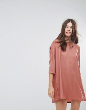 photo Tunic Dress by Noisy May, color Cederwoord - Image 1
