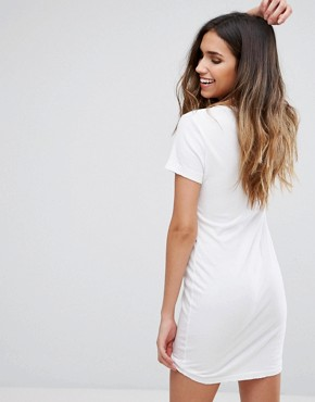 photo Je Ne Sais Quoi Dress by Wildfox, color Clean White - Image 2