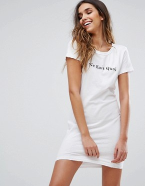 photo Je Ne Sais Quoi Dress by Wildfox, color Clean White - Image 1
