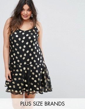 photo Cami Dress with Metallic Spot Print by Alice & You, color Multi - Image 1