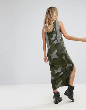 photo Be Raw Camo Tank Dress by G-Star, color Orphus - Image 2
