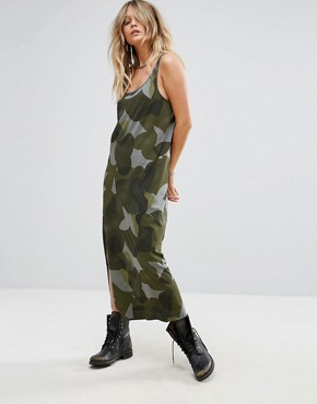 photo Be Raw Camo Tank Dress by G-Star, color Orphus - Image 1
