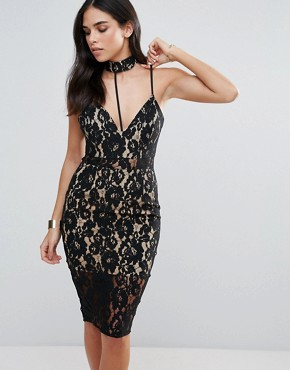 photo Lace Dress by Love Triangle, color Black - Image 1