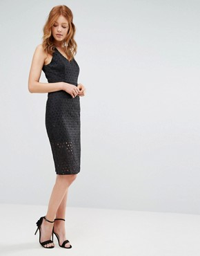 photo Genration Initiative Lace Shift Dress by BCBG Max Azria, color Black - Image 1