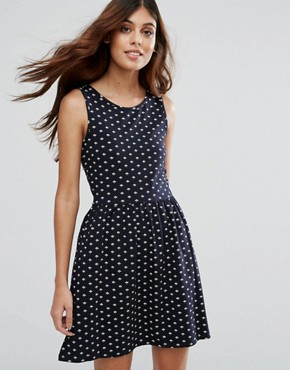 photo Live Love Niella Printed Skater Dress by Only, color Aop - Image 1