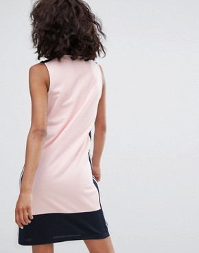 photo Osaka Sleeveless Polo Dress in Pale Pink by Adidas Originals, color Pink - Image 2