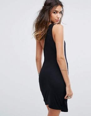 photo Toast To That Mini Dress by Free People, color Black - Image 2