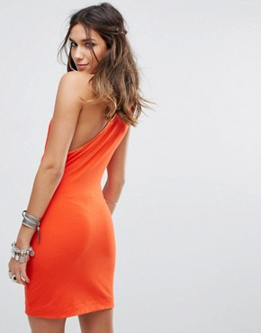 photo Toast To That Mini Dress by Free People, color Red - Image 2