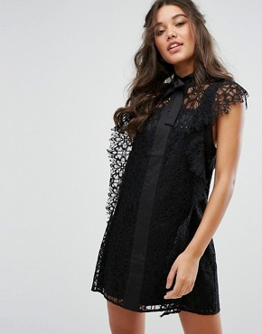 photo Serge Dress by Stevie May, color Black - Image 1