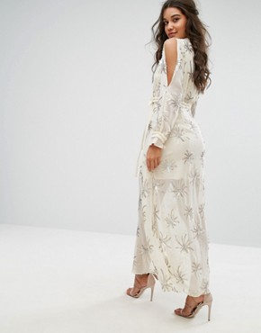 photo Dodie Maxi Dress by Stevie May, color Sand - Image 2
