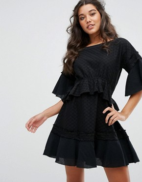 photo Camus Mini Dress by Stevie May, color Black - Image 1