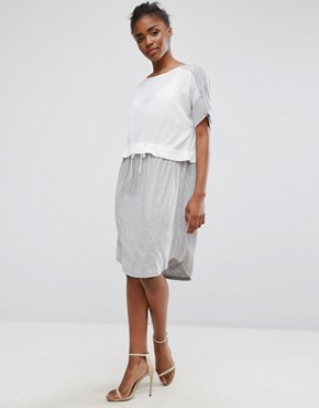 photo 2 in 1 Dress by Minimum, color White Grey - Image 1
