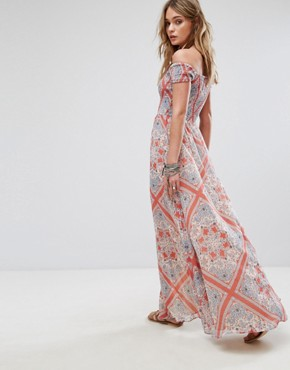 photo Henderson Maxi Dress by Tularosa, color Bandana Scarf - Image 2