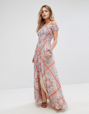 photo Henderson Maxi Dress by Tularosa, color Bandana Scarf - Image 1