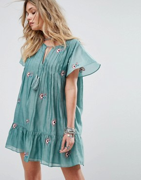 photo Carson Dress by Tularosa, color Turquoise - Image 1