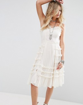 photo Sylvia Dress by Tularosa, color Cream - Image 1