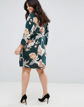 photo All Over Floral Shift Dress by Junarose, color Multi - Image 2