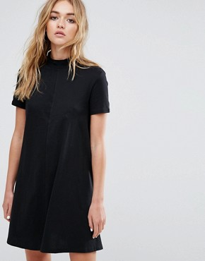 photo High Neck Swing Dress by Cheap Monday, color Black - Image 1