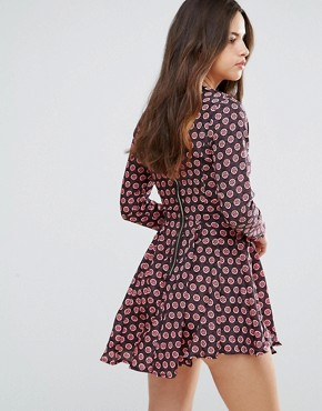 photo Billie Printed Dress by Louche, color Multi - Image 2