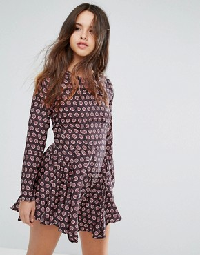 photo Billie Printed Dress by Louche, color Multi - Image 1