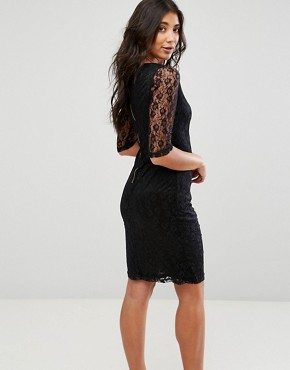 photo Lace Dress by Glamorous, color Black - Image 2