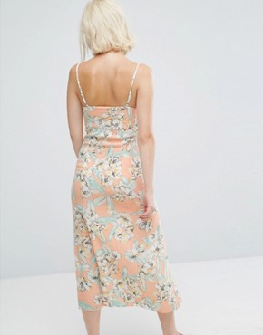 photo Palm Springs Floral Midi Dress by Minkpink, color Multi - Image 2