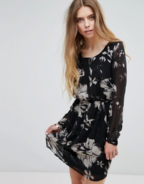 photo Floral Jersey Dress by Vila, color Multi - Image 1