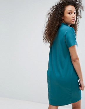 photo T-Shirt Dress by Moss Copenhagen, color Dragon Fly - Image 2